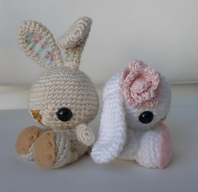 Amigurumi Conejo Kawaii : Crochetpedia amigurumi spring bunny