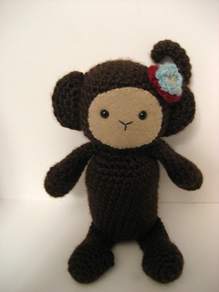 Ravelry: Monkey Amigurumi Crochet Pattern pattern by Amy ...