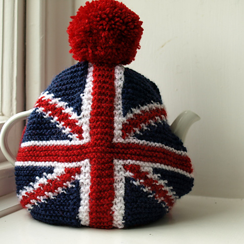 Knitting Pattern For Union Jack : Blij dat ik brei: Queen Elizabeth
