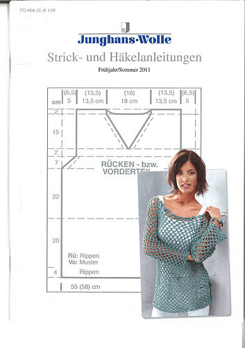 Ravelry junghans wolle anleitungsheft fr hjahr sommer - Junghanns wolle ...