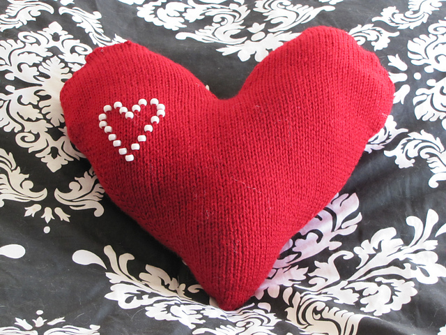 Who Knit It Better? -Heart Shaped Pillow Edition BeLoved Knits