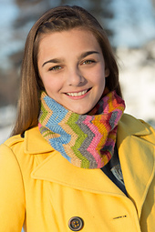 Doubled Chevron Cowl PDF