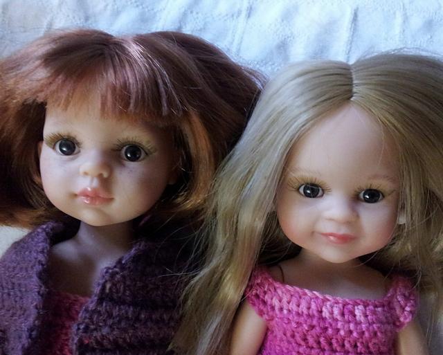Paola Reina - Claire, Elena, Marion & Dasha rejointes par Marieta en dernière page !! 20151125_144305_medium2