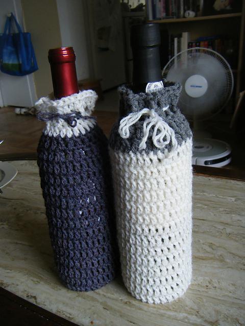 Off The Hook Astronomy Wine Bottle Cozy Pattern