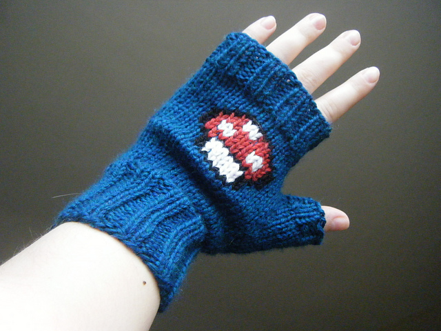 Off the Hook Astronomy: Pay-It-Forward Mario Mushroom Mitts (or 3 down, 1 to go)