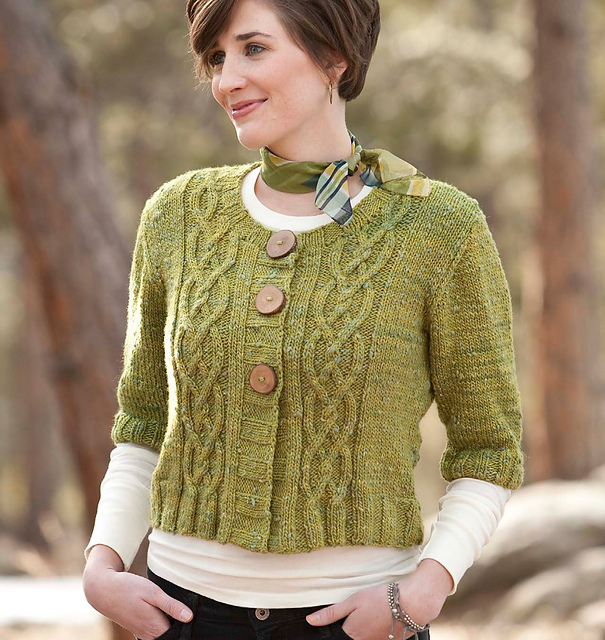 Modern Cardigan Knitting Patterns : WEBS Yarn Store Blog   2011   December