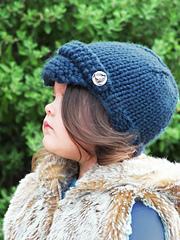 Ravelry: Baby Newsboy Hat pattern by CreatiKnit