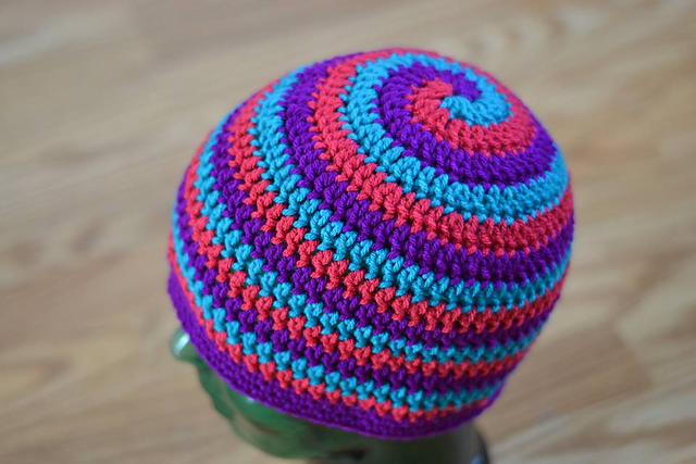 The Helix Hat by Danyel Pink