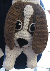 Ravelry: Basset Hound Dog Scarf Crochet Pattern pattern by ...
