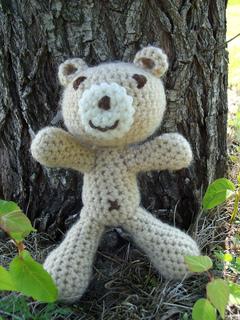 Eddy Bear Crochet Pattern