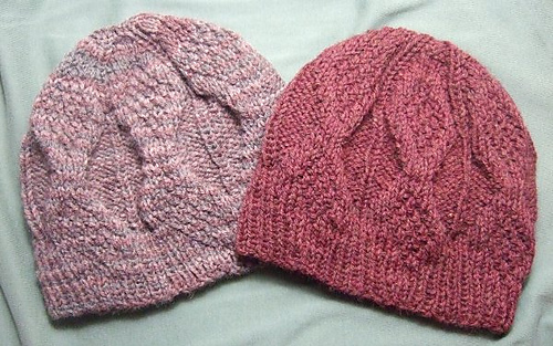 Free Hat Knitting Patterns Straight Needles : The Fuzzy Square: Quick DIY Knit Gifts in Time For Valentines Day: Free ...