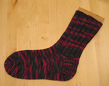 Basic Toe Up Adult Sock PDF