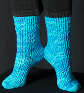 Crystal Galaxy Socks PDF