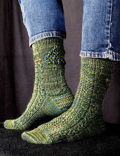 Fern and Forest Socks PDF