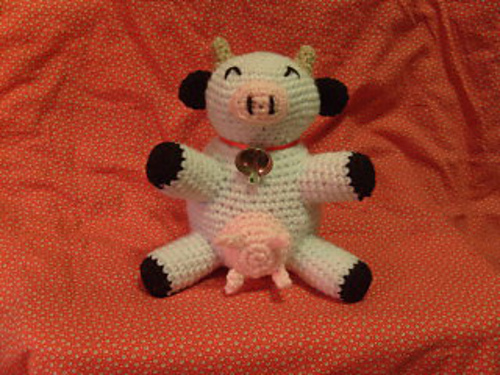 Craft Notes Free Crochet Pattern Roundupmoo Cows