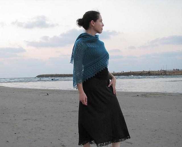 """披肩:""""海洋喷雾"""" - maomao - 我随心动"""