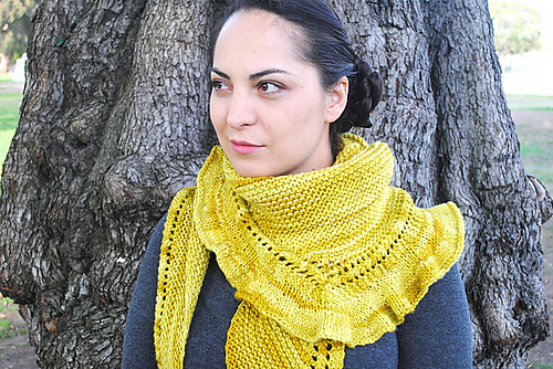 Riverbed Shawlette
