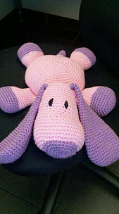PILLOW PAL PUPPY CROCHET PATTERN ? Free Crochet Patterns