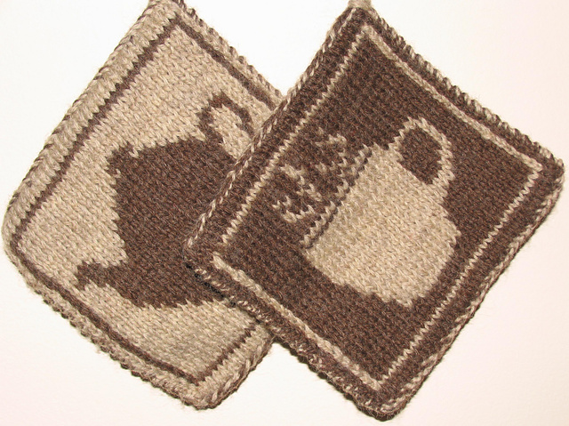 Double Knit Tea Pot Holder