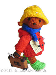Ravelry: Paddington Bear pattern by Loly Fuertes