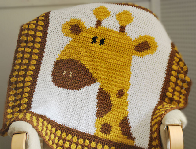 Free Giraffe Crochet Afghan Pattern : Thursday Handmade Love Week 60 ~ Crochet Addict UK