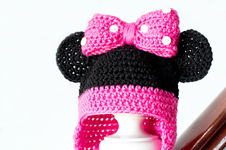 Ravelry Minnie Mouse Baby Hat Pattern By Olivia Kent