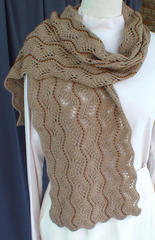 Beaded Lace Scarf II PDF