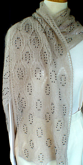Beaded Lace Scarf PDF