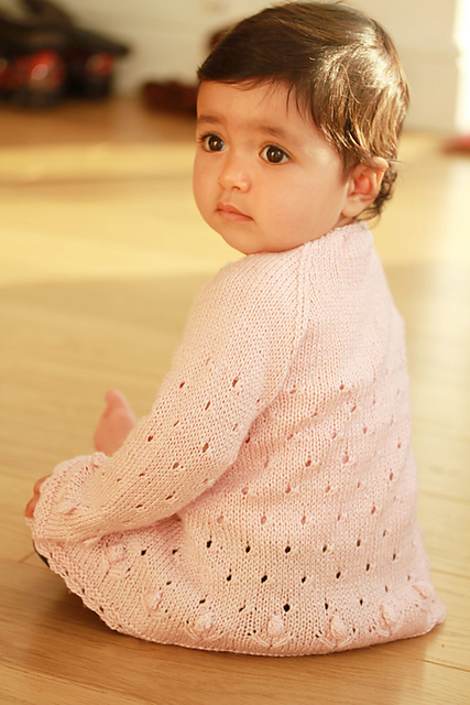 Kaelyn cardigan in light pink