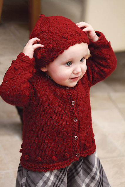 Kaelyn Cardigan and Hat