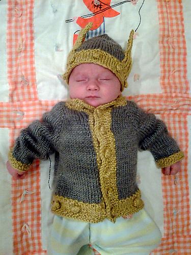 Rowan's Thor Sweater by Jenny Jackman (FREE)