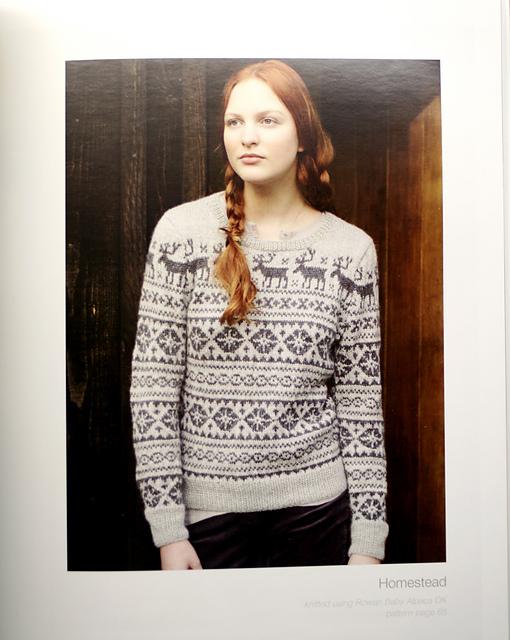 Схемы вязания спицами свитер с оленями