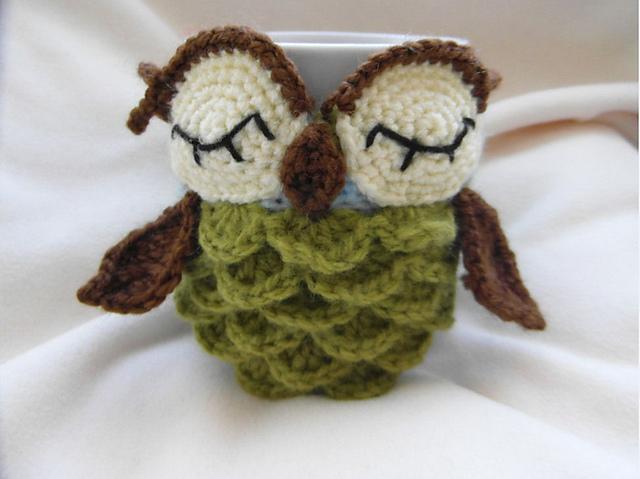 Owl mug cozy : Cute and Kaboodle