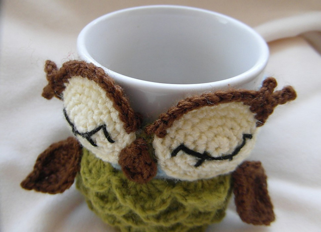 Mug Cozy Crochet Pattern Free Images Knitting Patterns Free Download