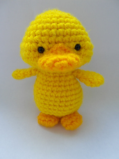 Yellow Duckling - new free pattern