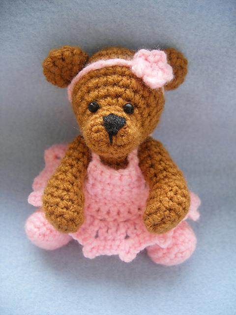 Ballerina teddy bear cute and kaboodle