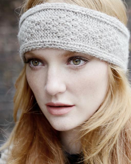 Headband Knit Patterns : OwlPrintPanda: Cozy Knitted Bow Headband (earwarmer)!