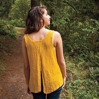 Photo of Knit Picks knitting pattern Split Back Tank