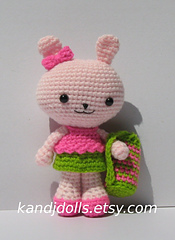 Pinky The Rabbit Amigurumi Crochet Pattern : Ravelry: Pinky the Bunny Amigurumi Crochet Pattern pattern ...