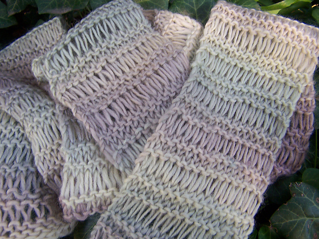 Easy Knit Pattern Scarf Patterns Gallery