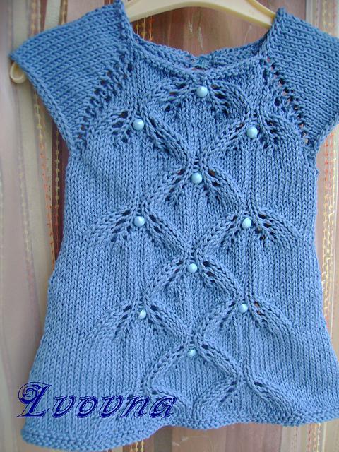 Puntadas para blusas de dos agujas - Imagui