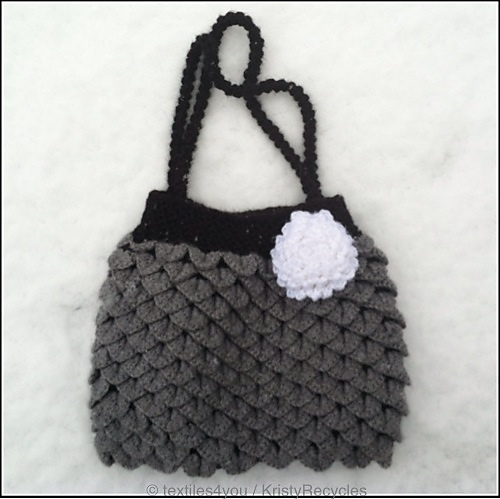 Textiles4you  Crocodile Stitch Purse 0f798fea64859