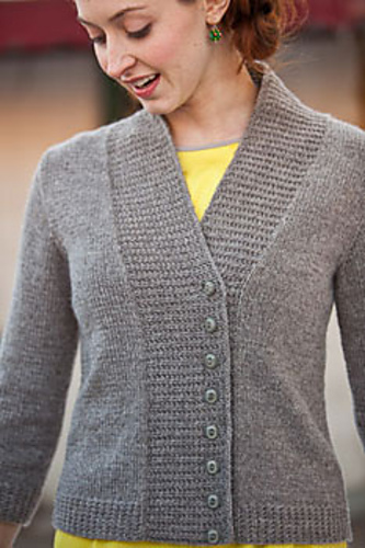Essential Cardigan by Laura Grutzeck