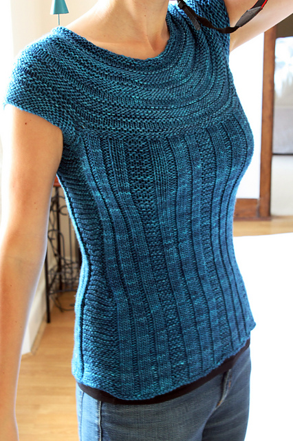 Top Down Knitting Patterns : Trying out new things technical and crafty