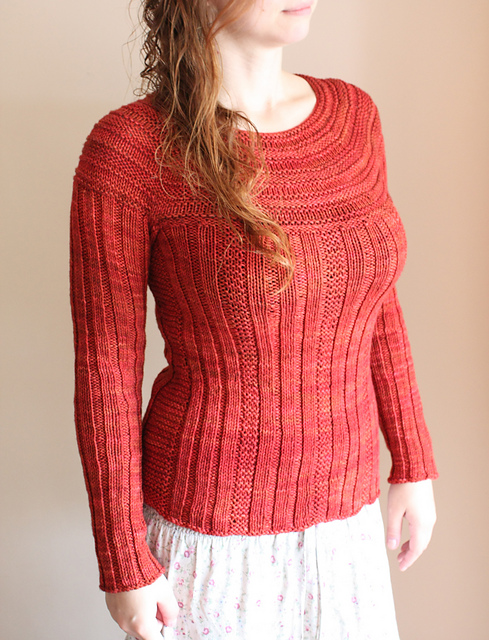 Pull Me Over - Andrea Black's designs - Knitting pattern