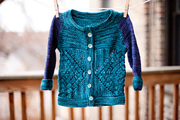 Crossed Cardigan PDF