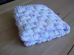 Ravelry Quick And Easy Basket Weave Baby Blanket Basket