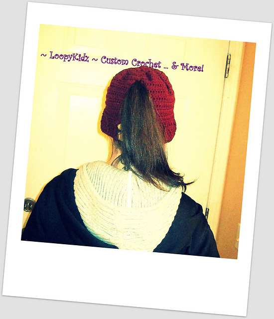 Women's Ponytail Hat
