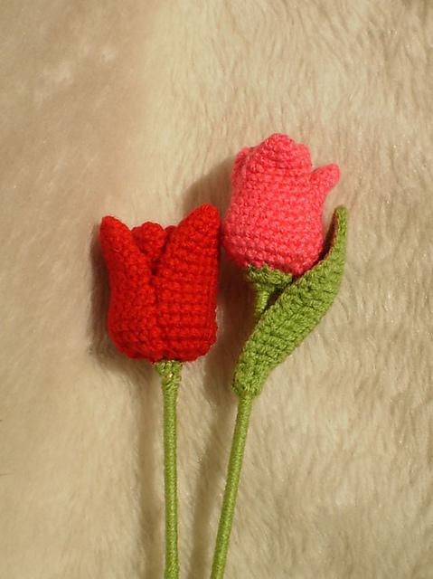 Haakpatroon Tulpen