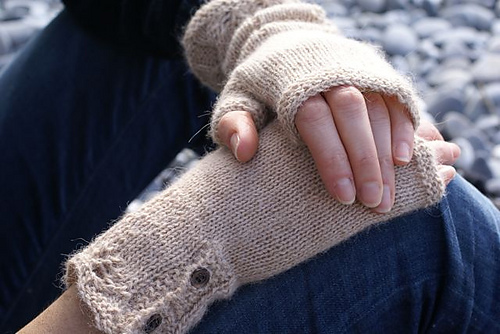 Scarborough fair fingerless gloves